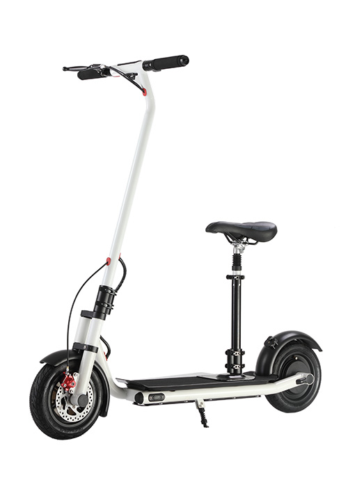 Electric Bicycle White S012