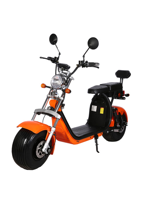 1500W Two Seat Citycoco Powerful Motorcycle EEC CP-1.1