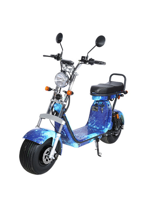 18inch Eec Coc Big Wheel Electric Motorcycle EEC CP-1.2