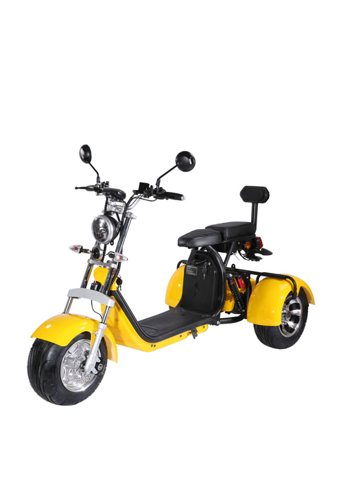 Two Seat Three Wheel Eec Electric Scooter EEC-CP-3.0