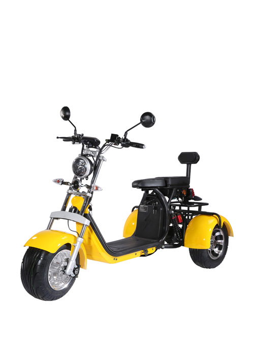 2000W EEC COC Tricycles Electric Scooter EEC CP-3.1
